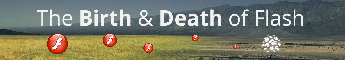 The Birth and Death of Flash